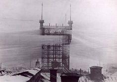 Телефонный узел, соединяющее 5000 телефонных линий в Стокгольме. 1890 год.