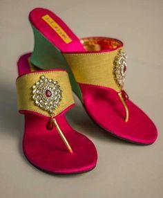 Bridal Footwear, Girls Footwear, Girls Shoes, Bridal Sandals, Bridal Shoes, Wedding Shoes, Wedding Outfits For Women, Shoe Boots, Shoes Heels