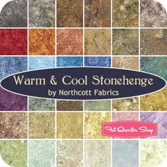 Warm & Cool Stonehenge Stone Chips by Northcott Fabrics Northcott Fabrics CSTONE-10 - Fat Quarter Shop