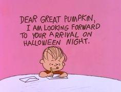 It's the Great Pumpkin, Charlie Brown. Oh, Linus... <3