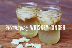 homemade whisky ginger