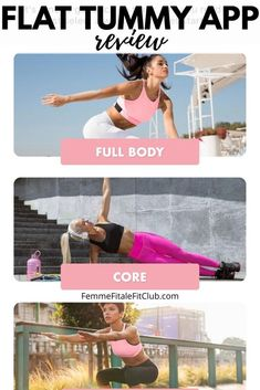 In this new year and new decade try the new Flat Tummy App which doesn't require equipment and is excellent for beginners. #flattummyapp #getflat #flattummy (2)