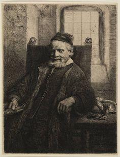 Rembrandt in Teylers Museum: Portret Jan Lutma (B276)
