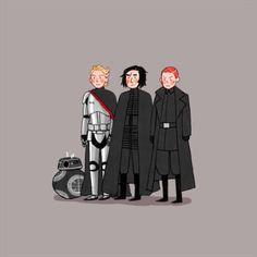 The First Order Squad Star Wars Fan Art, Star Wars Meme, Star War 3, S Star, Jedi Knight, Reylo, Clone Wars, First Order, Fangirl