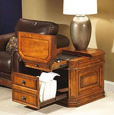 Laptop Storage End Table I Love Multi Tasking Furniture