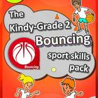 K-2 PE Sport - The Bouncing PE LESSONS Skill & Games Baske
