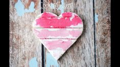 Rustic Weathered Wood Ombre Heart Decorated Sugar Cookie Tutorial Video