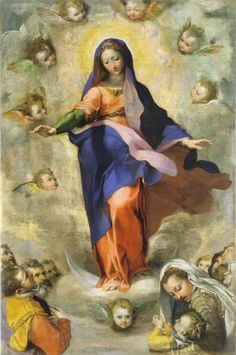 The Immaculate Conception, painted by Federico Barocci in 1575.
