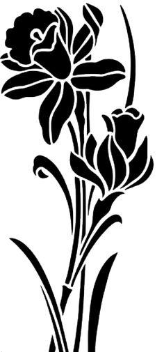 Stencil Art, Stencils, Flower Tattoos, Tribal Tattoos, Roses, Cricut, Printables, Silhouette, Flowers