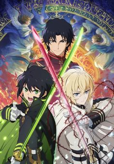 172 Seraph of the End - Vampire Reign Japanese Anime Poster Otaku Anime, Tv Anime, Manga Anime, Anime Art, Anime Watch, Anime Guys With Glasses, Hot Anime Guys, Neue Animes, Anime Characters