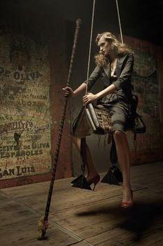 The Lady In Black-Fashion Editorials-Fashion Tales-Photographer:Eugenio Recuenco