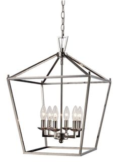 Carmen 6 Light Foyer Pendant $180