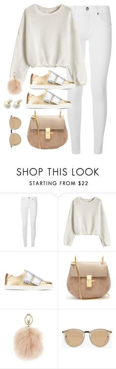 """Untitled #4195"" by magsmccray ❤ liked on Polyvore featuring Burberry, Fendi, Chloé, Furla and Le Specs"