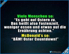 Der perfekte Zeitpunkt für die besten Angebote! #Ostern #OsterCountdown #Sprüche #lustiges #Memes
