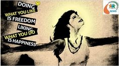 Doing What you like is FREEDOM,  Liking what you do is HAPPINESS. Stay Happy!!! #NGOSofia #KHEmpower