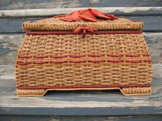 I adore sewing baskets
