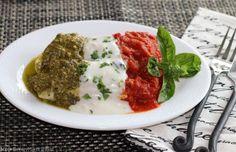 Manicotti with Three Sauces