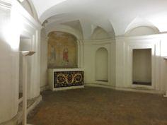 The basement of the San Carlo alle Quattro Fontane.