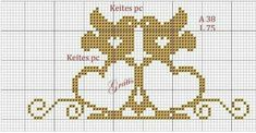 Filet Crochet, Cross Stitch, Instagram, 1, Awesome, Punto Cruz Gratis, Cross Stitch Love, Disney Cross Stitches, Wedding Cross Stitch