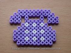 Retro Telephone hama perler beads by Kevin Simon
