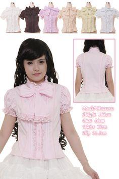 4359ca93c2cd2 L373 - Bodyline  53  lolita  blouse Kawaii Fashion