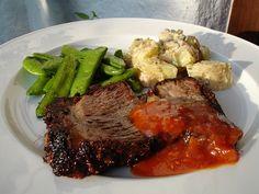 Chili und Ciabatta: BBQ at its best: Rinderrippe