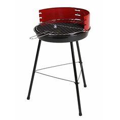 Barbecue cuve acier Ø 36 cm sur 3 pieds livré avec grille de cuisson acier chroméØ34 cm.