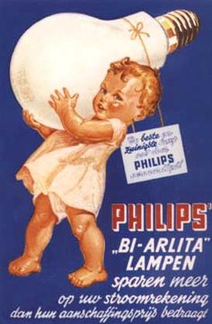 Philips Lampen, Affichekaarten, One Card Selling