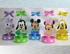Baby Shower Games, Baby Shower Parties, Welcome Baby Party, Minnie Mouse Decorations, Baby Mickey Mouse, Baby Shawer, Mickey And Friends, Baby Disney, 1st Birthday Parties