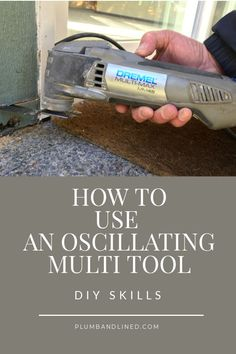 Discover the many uses for getting the most out of your oscillating tool in this informative article. Diy House Projects, Diy Craft Projects, Diy Crafts, Best Multi Tool, Boredom Busters For Kids, Oscillating Tool, Custom Pillow Cases, Fun Activities For Kids, Diy Signs