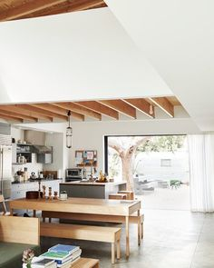 Takuhiro Shinomoto's home, and beautiful table and benches. Tortoise General Store