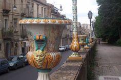 Caltagirone,   Via Roma
