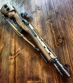Have mercy. Love this rifle. Weapons Guns, Military Weapons, Guns And Ammo, Battle Rifle, Custom Guns, Cool Guns, Firearms, Shotguns, Tactical Gear