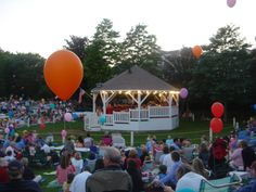 Many happy memories of Friday night concerts at the Chatham BandStand - kids and adults alike dancing, laughter - a wonderful vacation memory