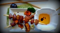 PassionatedAboutCooking: Roasted chicken Hearts with Mizo, Cashew Nuts, gri...