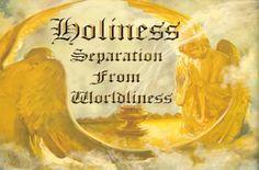 Holiness.