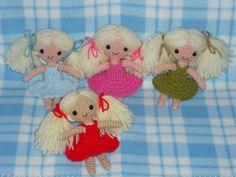 Crochet Amigurumi Doll Free : Amigurumi doll in dragon costume amigurumi today