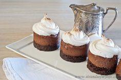 Chocolate Mousse Meringue Desserts - Gluten-Free