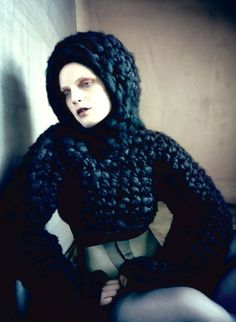 Pins & Needles   Dazed Fall 2014   Guinevere Van Seenus by Paolo Roversi   Styled by Robbie Spencer #fashioneditorials