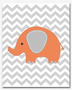 https://www.etsy.com/listing/177859705/orange-and-grey-elephant-nursery-art?ref=related-6