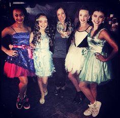 Their dresses r perf