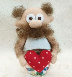 Felt Dolls, Teddy Bear, Christmas Ornaments, Toys, Holiday Decor, Home Decor, Activity Toys, Christmas Ornament, Interior Design
