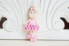 Ballerina Ornament by melaniescrafts on Etsy https://www.etsy.com/listing/210909014/ballerina-ornament
