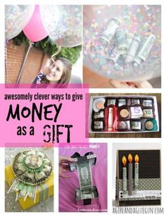 clever ways to give money as a gift!