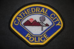 Cathedral City Police Patch, Riverside County, California