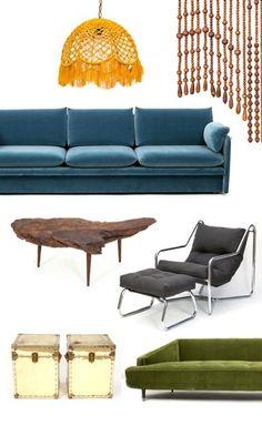 All Vintage Furniture, @onekingslane Stuff i want to hoard....