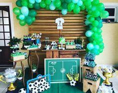 19 New Ideas Baby Onesies Football Kids Soccer Theme Parties, Soccer Party, Party Themes, Football Birthday, Teen Birthday, Birthday Parties, Soccer Baby Showers, Baby Shower Parties, Soccer Banquet