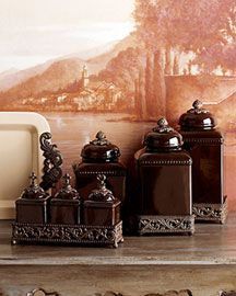 GG COLLECTION SPICE JARS & CANISTER