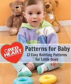 12 Knitting Patterns for Baby Free eBook