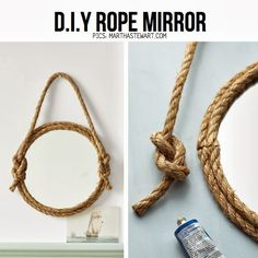 How to Recycle: Recycled Rope Craft Ideas